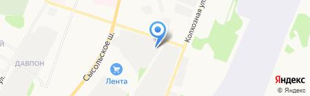 Коми региональный диспетчерский центр мониторинга транспорта на карте Сыктывкара