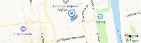Mr Flowers на карте Сыктывкара