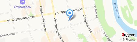 Центр по предоставлению государственных услуг в сфере социальной защиты населения г. Сыктывкара на карте Сыктывкара