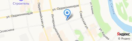 OZON на карте Сыктывкара