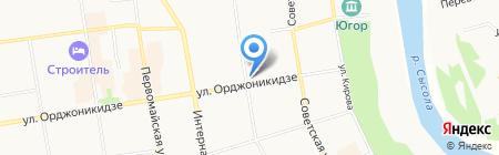 Пенная кружка на карте Сыктывкара