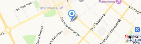 СОГАЗ на карте Сыктывкара