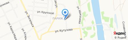 Почтовое отделение №11 на карте Сыктывкара