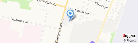 Орбита-Плюс на карте Сыктывкара