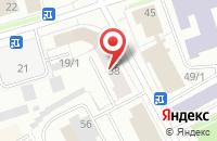 Схема проезда до компании Усинсклифт в Сыктывкаре