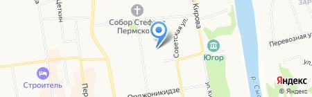 Детский сад №114 на карте Сыктывкара