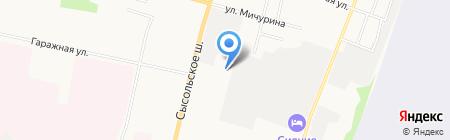 ШинТорг на карте Сыктывкара