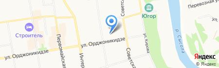 Хозяин на карте Сыктывкара
