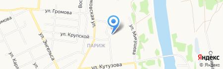Детский сад №44 на карте Сыктывкара