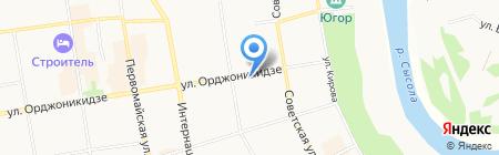 Гимназия им. А.С. Пушкина на карте Сыктывкара