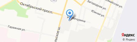 Гольфстрим на карте Сыктывкара