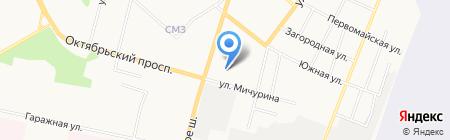 Бегемот Сыктывкар на карте Сыктывкара