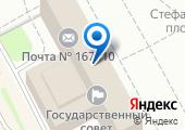 Управление координации контрактной системы, размещения госзаказа Республики Коми на карте