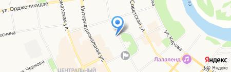 Мир печати №1 на карте Сыктывкара