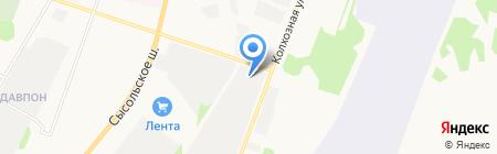 Транзит-Плюс на карте Сыктывкара