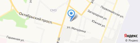 РОСИНТЕХ ГРУПП на карте Сыктывкара