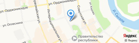 Банкомат Промсвязьбанк на карте Сыктывкара
