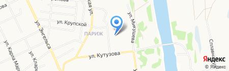 Транспортная компания на карте Сыктывкара