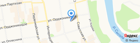 Музей лесоводства на карте Сыктывкара