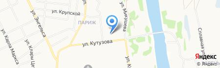 Автоюрист-Сыктывкар на карте Сыктывкара