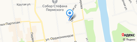 Major Express на карте Сыктывкара