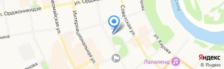 Колледж искусств Республики Коми на карте Сыктывкара