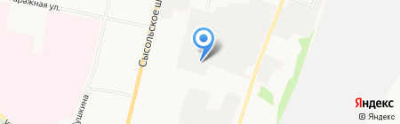 Камнеобработчик на карте Сыктывкара
