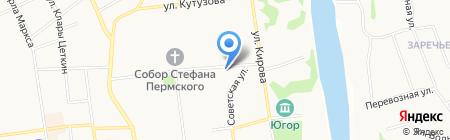 Гранд-Профит на карте Сыктывкара