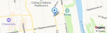 Деловой центр на карте Сыктывкара