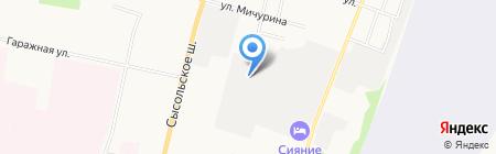 СМЗ на карте Сыктывкара