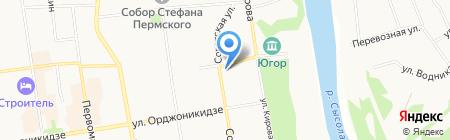 КОМПАНИЯ-2000 на карте Сыктывкара