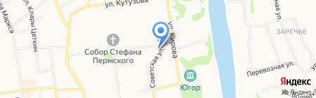 Адвокатская палата Республики Коми на карте Сыктывкара