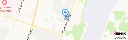 Энергосервис Коми на карте Сыктывкара