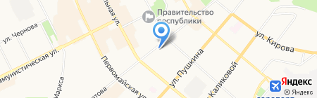 Ремонтно-Эксплуатационная Компания на карте Сыктывкара