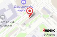 Схема проезда до компании Ремонтно-Эксплуатационная Компания в Сыктывкаре