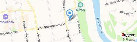 Страна чудес на карте Сыктывкара