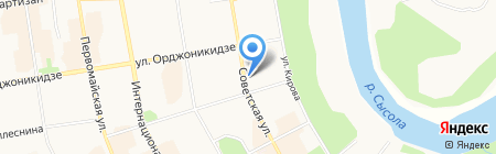 Формат трейдинг плюс на карте Сыктывкара