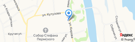 Профит на карте Сыктывкара