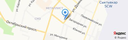 Стекольная мастерская на карте Сыктывкара