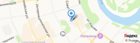 Национальный музей Республики Коми на карте Сыктывкара