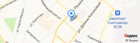 Ай Пи-Финанс на карте Сыктывкара