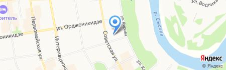 Национальный музыкально-драматический театр Республики Коми на карте Сыктывкара