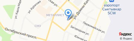 ПринтМастер на карте Сыктывкара