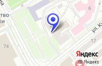 Схема проезда до компании СТРОИТЕЛЬНАЯ ФИРМА ДОРОГИ КОМИ в Сыктывкаре