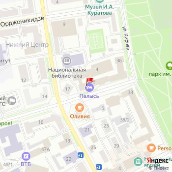 г. Сыктывкар, ул. Бабушкина,4 на карта