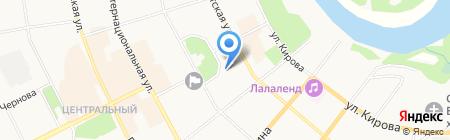 Коми республиканская филармония на карте Сыктывкара