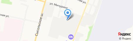 Главное управление материально-технического обеспечения здравоохранения Республики Коми на карте Сыктывкара