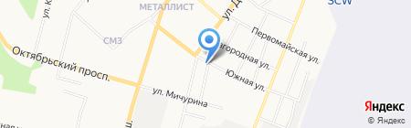 Территориальный фонд информации по природным ресурсам и охране окружающей среды Республики Коми на карте Сыктывкара