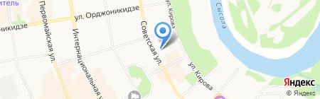 Спасский на карте Сыктывкара