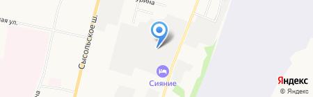 Сыктывкар-Климат на карте Сыктывкара